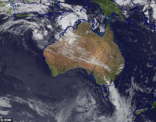 Four Separate Cyclones Bear Down On Australia Cyclone Australia Separation