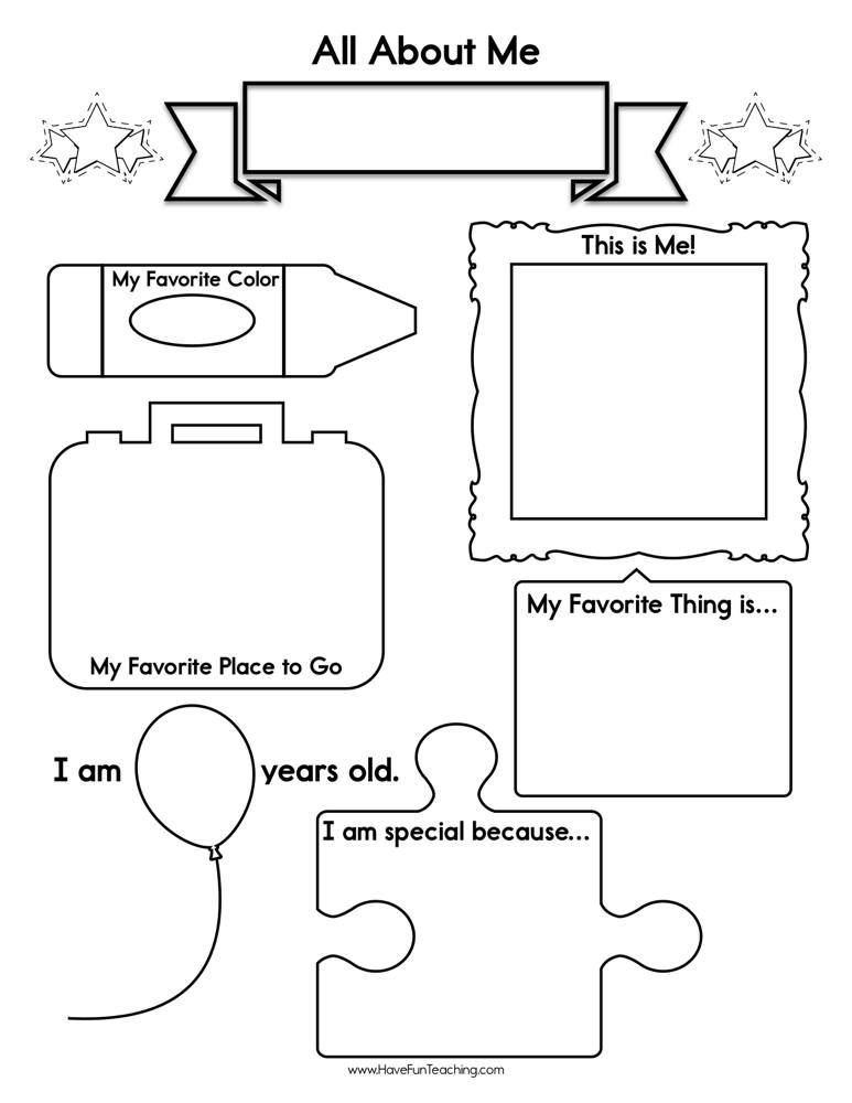 About Me Worksheet Kindergarten Social Studies Preschool Social Studies Social Studies Worksheets Free kindergarten social studies worksheets