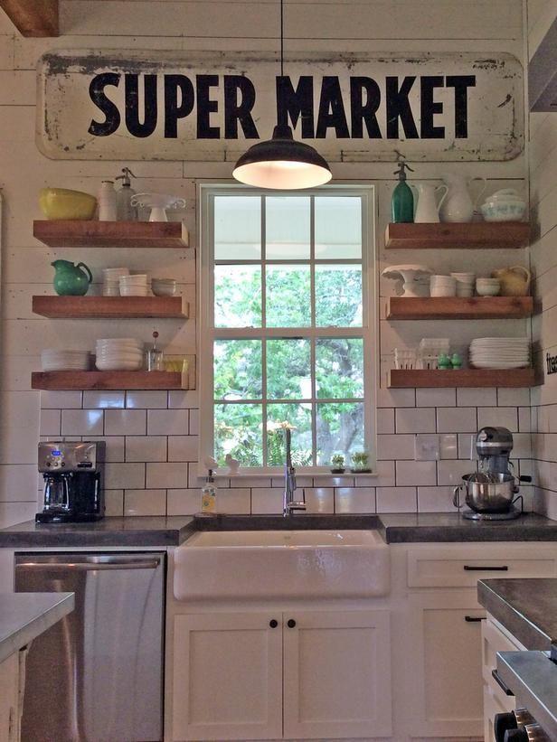 Floating shelves | Kitchen | Pinterest