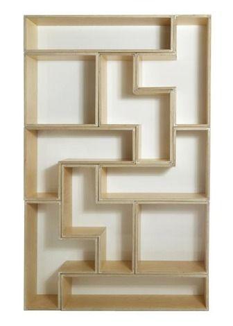 Tetrad Flat Piece Set By Brave Space Tetris Bookcase @ 2Modern.com $2850