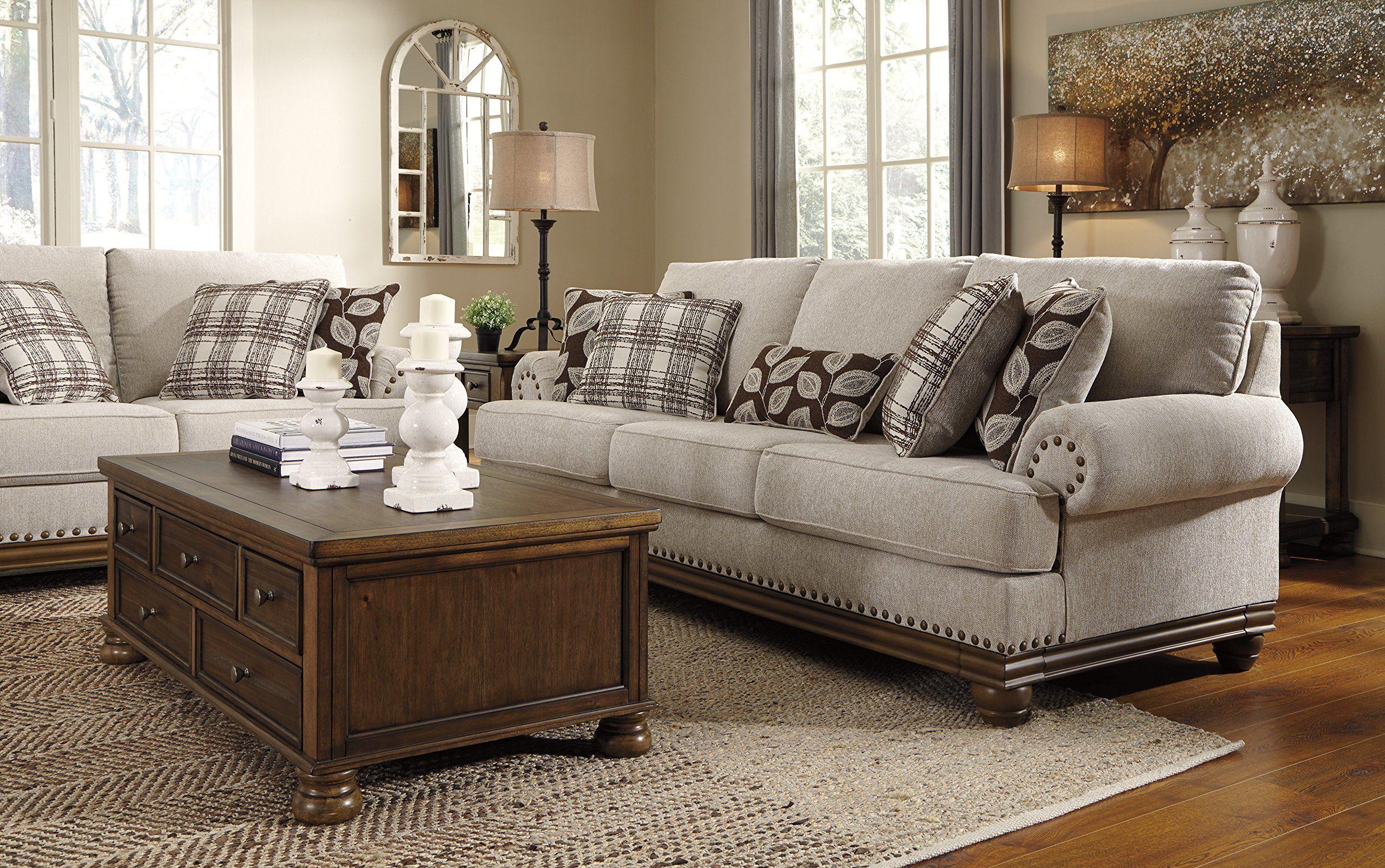 Ashley Furniture Signature Design Harleson Traditional Upholstered