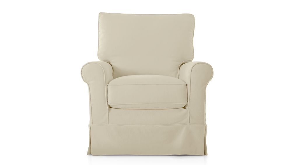 Barrel Swivel Chair Slipcover Ostrich Beach Chairs Review Harborside Slipcovered 360 Chen Family Room