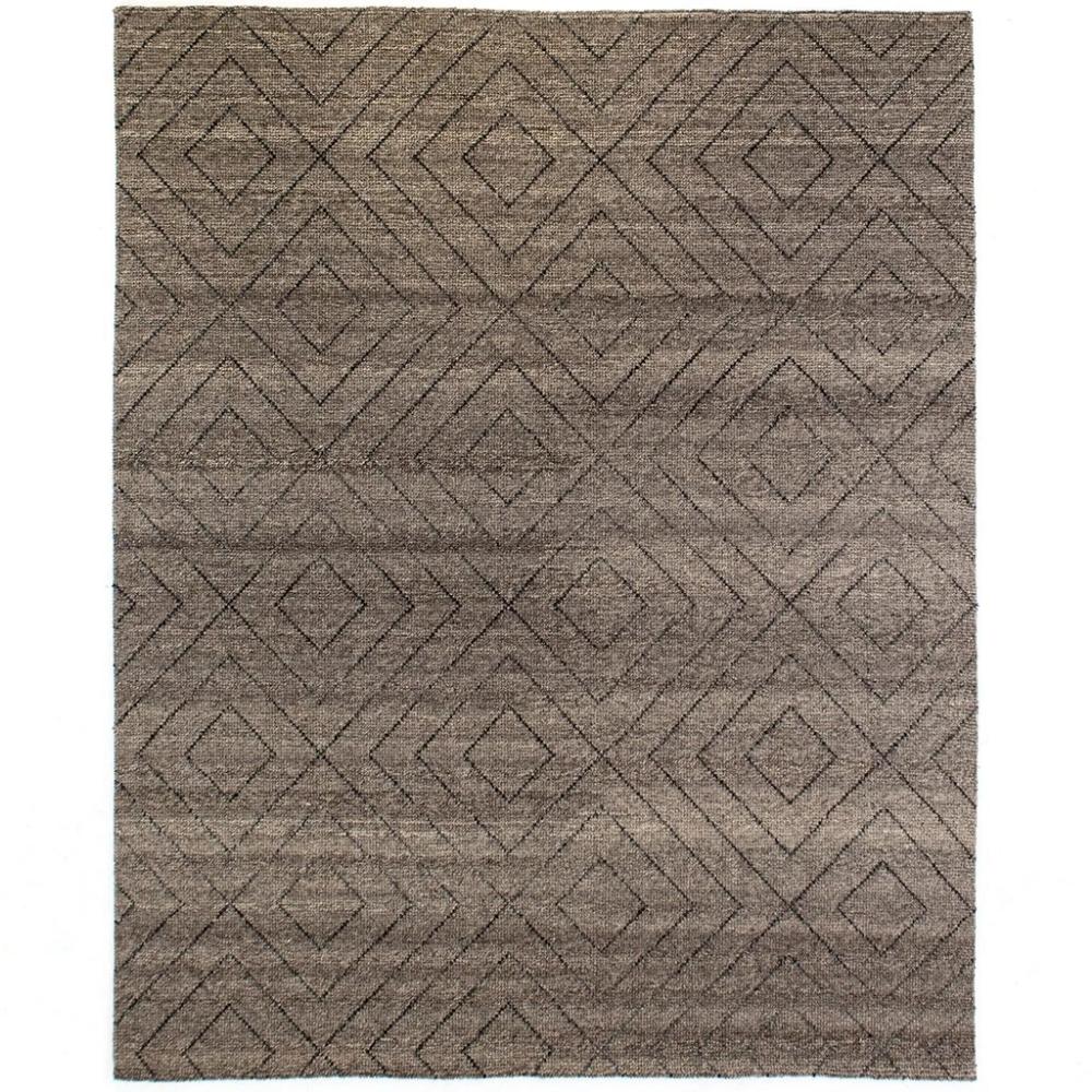 Natural Diamond Patterned Wool Rug Wool Rug Rug Pattern Rugs