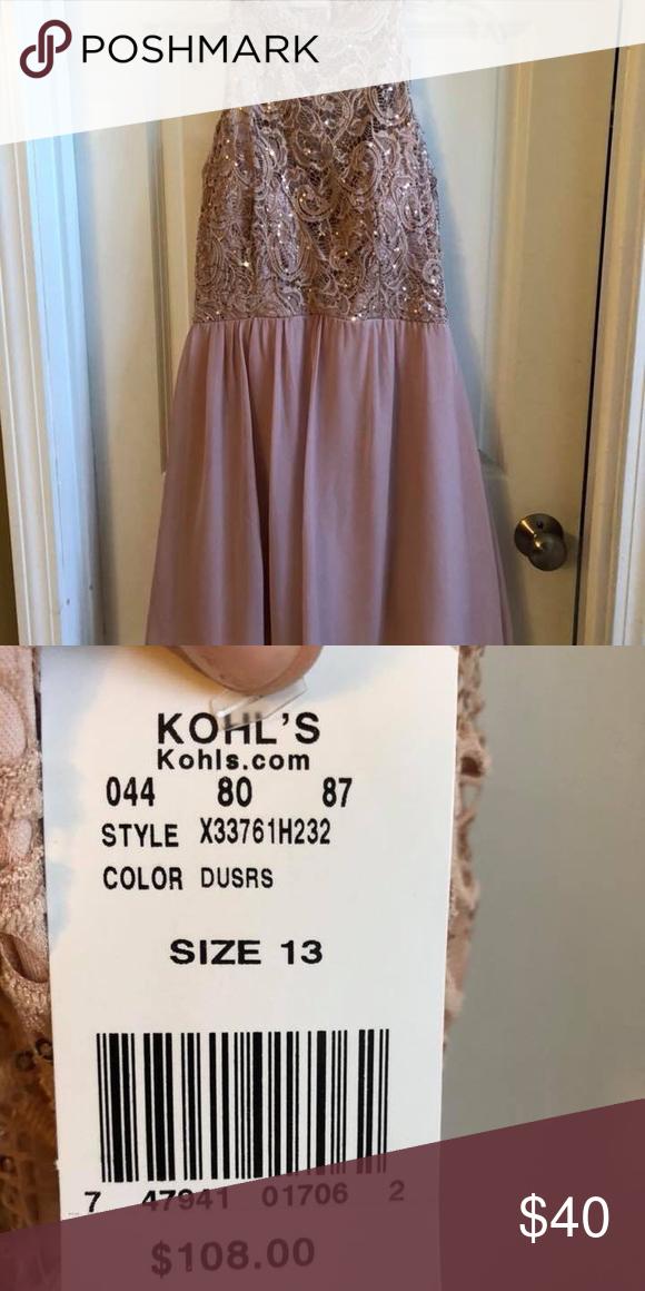 Kohls Semi Formal Dress Size 13 Never Worn Perfect For Spring