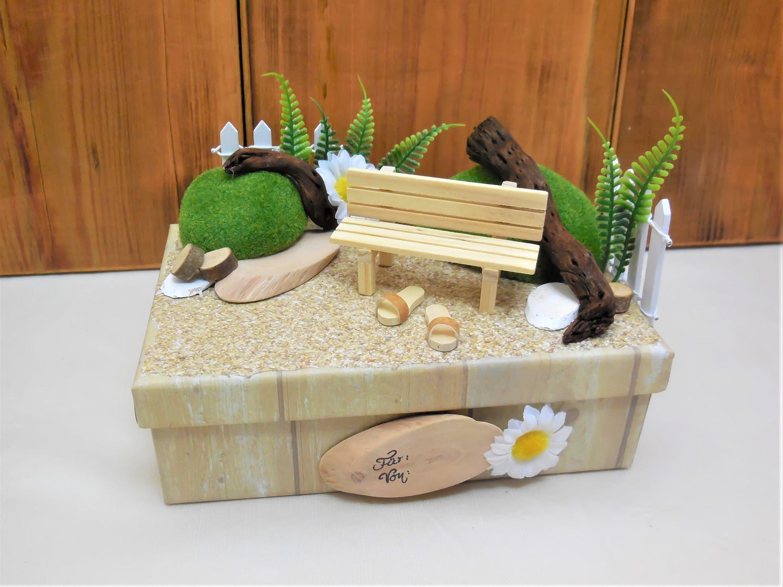Garten Box Gutschein Garten Geldgeschenk Garten Ruhestand Etsy Decorative Boxes Decor Box