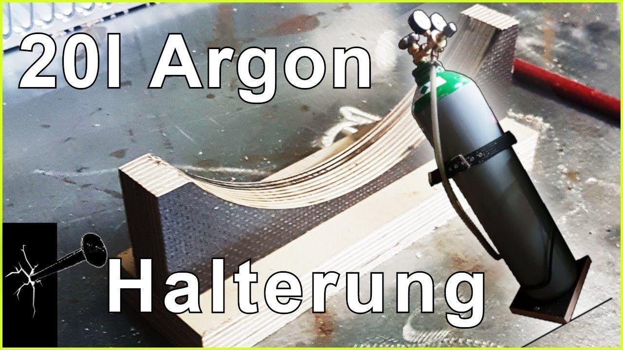 20l Argon Gasflaschen Halterung Halterung Flaschen Eigenwerbung
