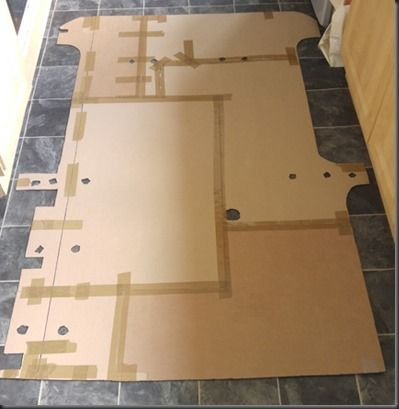 New Floor Template For Mazda Bongo