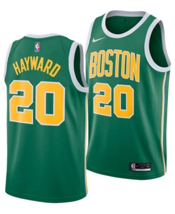 68e9b3f7909 Nike Men's Gordon Hayward Boston Celtics Earned Edition Swingman Jersey -  Green XXL