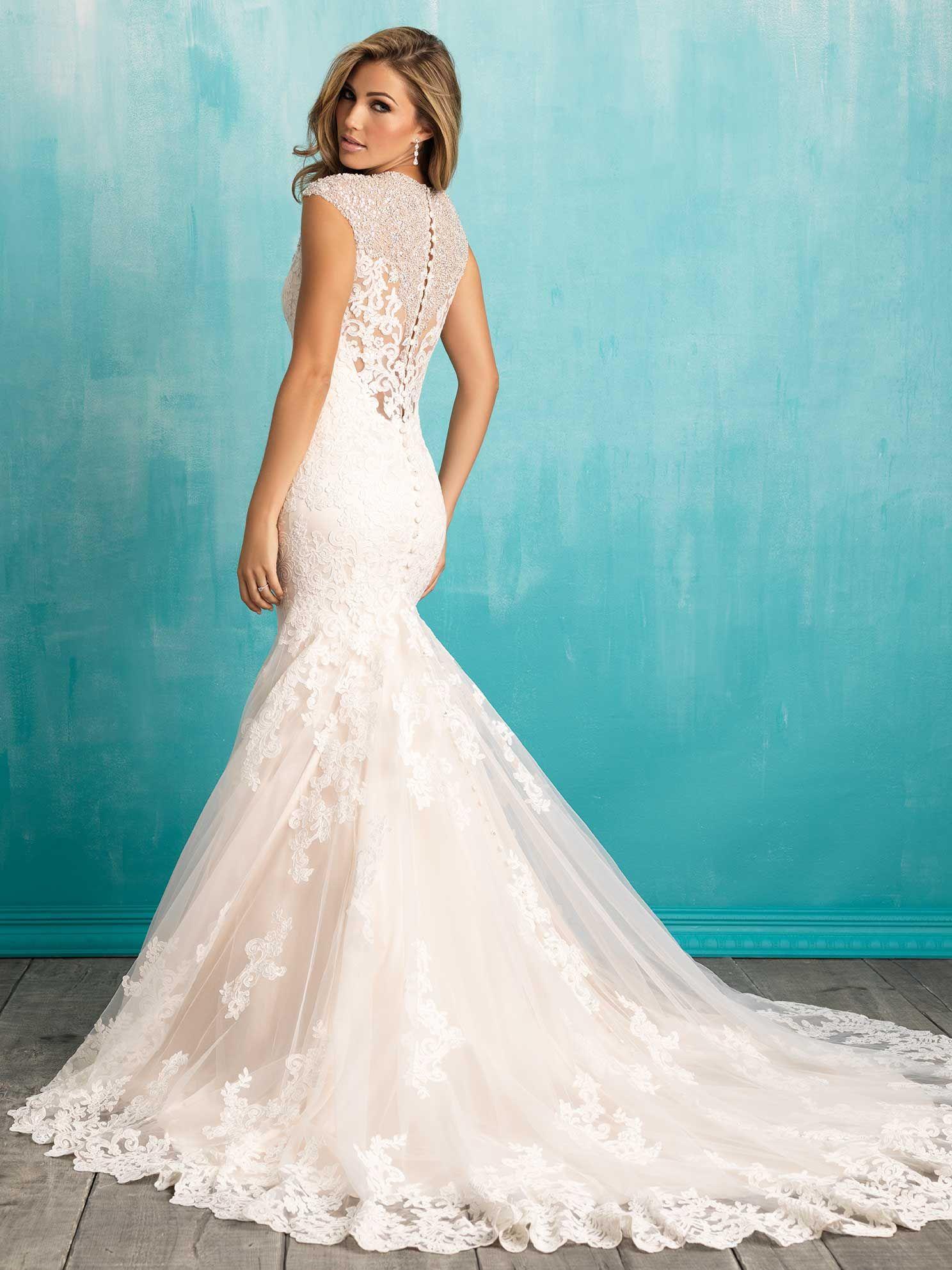 Allure Bridals 9307 // Spring 2016   allure bridals   Pinterest ...