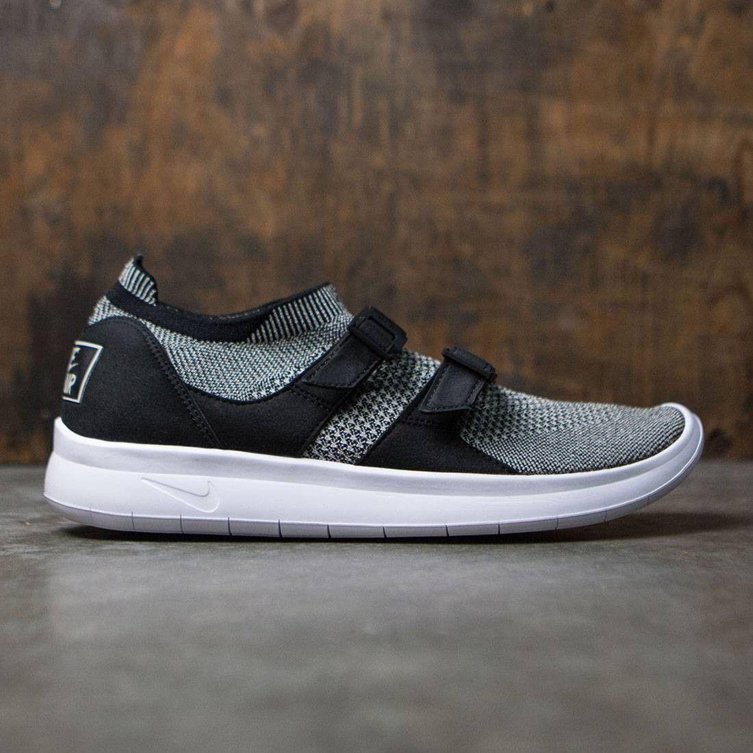 241b68c47fb4 Nike Men Air Sock Racer Ultra Flyknit (black   pale grey-black-white ...