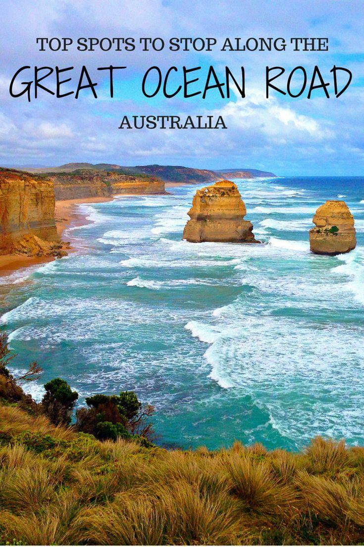 The best spots to stop along Australia's epic Great Ocean Road.