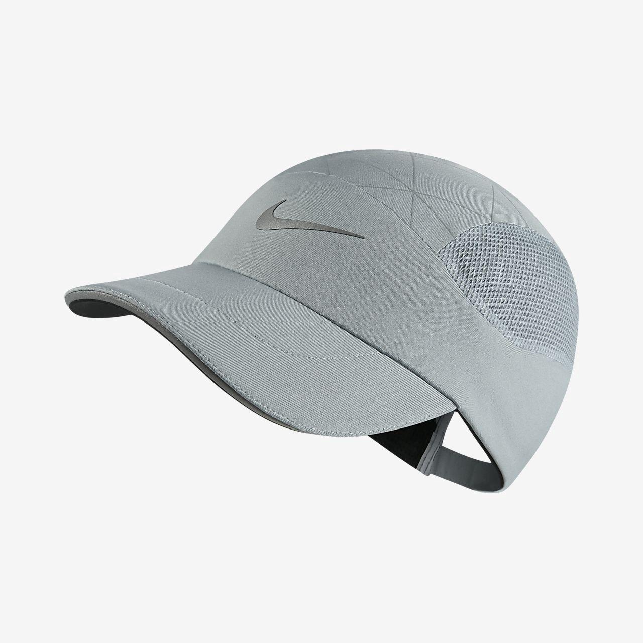Nike Aerobill Tailwind Adjustable Running Hat Light Pumice Os Running Hats Nike Riding Helmets