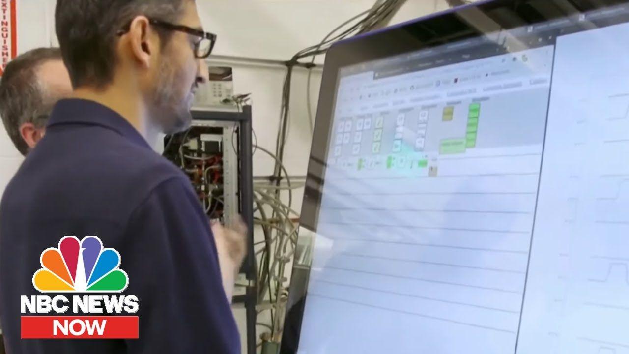 Google Claims Quantum Computing Breakthrough NBC News
