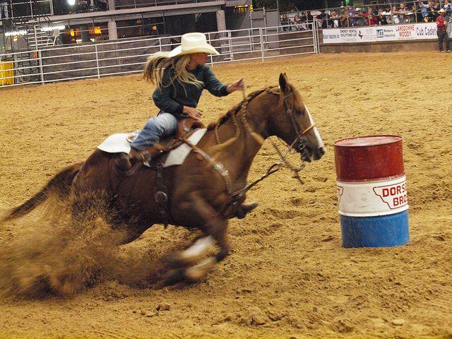 Pasadena Texas Professional Rodeo Cowboys Association PRCA Pasadena Livestock…