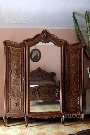 camera-da-letto-barocco-piemontese | curb appeal