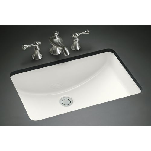 I Love The Slope Of This Retangle Sink Kohler Ladena White Undermount Bath Sink 236 With Images Rectangular Sink Bathroom Small Undermount Bathroom Sink Kohler Sink