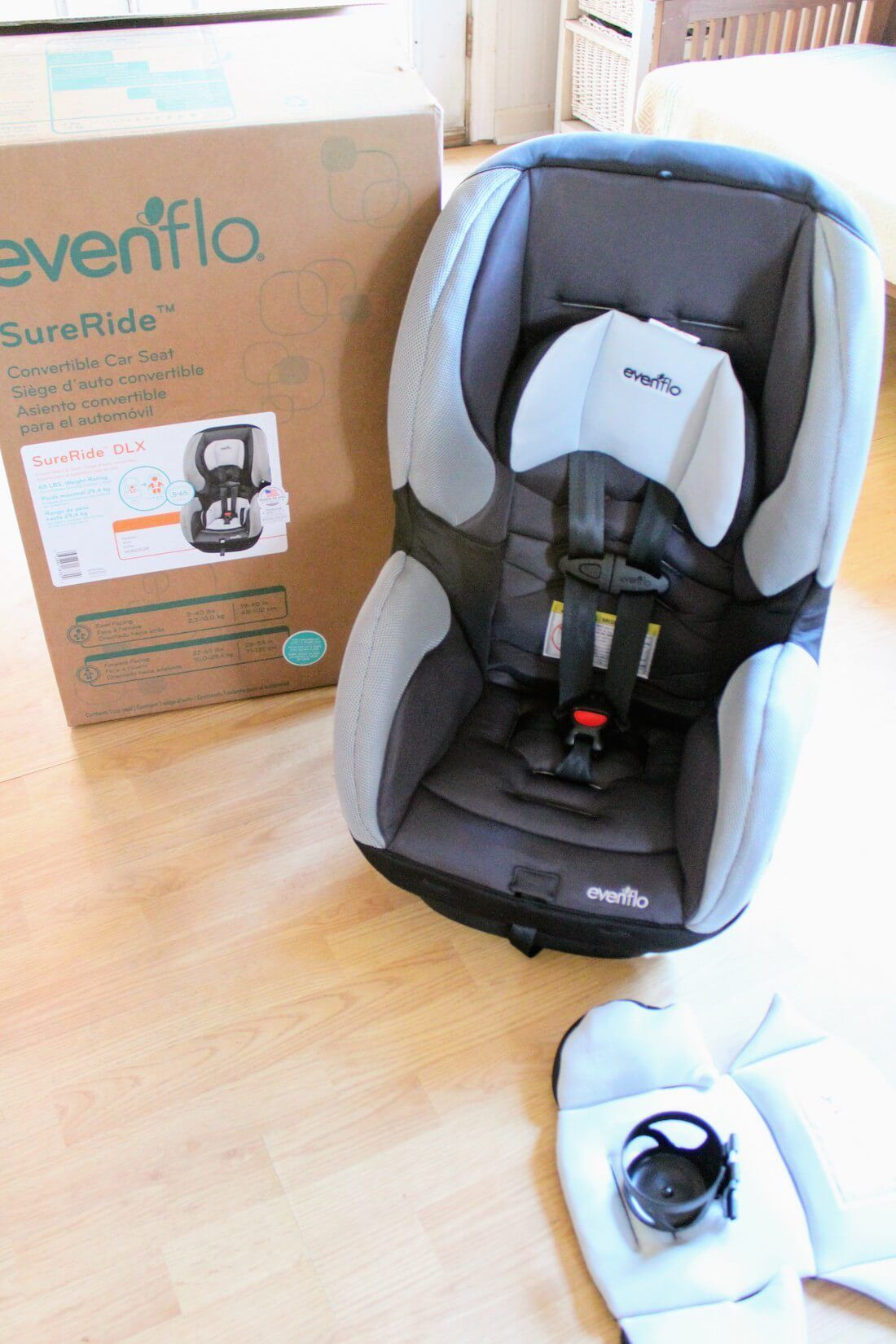 Second Car Safety On A Budget Review Of The Evenflo Sureride Dlx