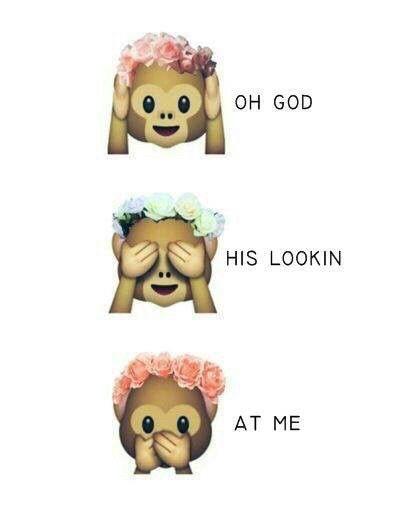 I Love That Monkey Monkey Emoji Emoji Wallpaper Iphone Flower Crown Tumblr