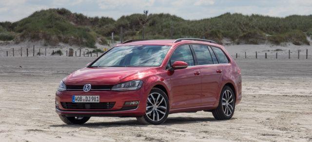 Everybody´s Darling: VW Golf 7 Variant als TSI-DSG im Fahrbericht