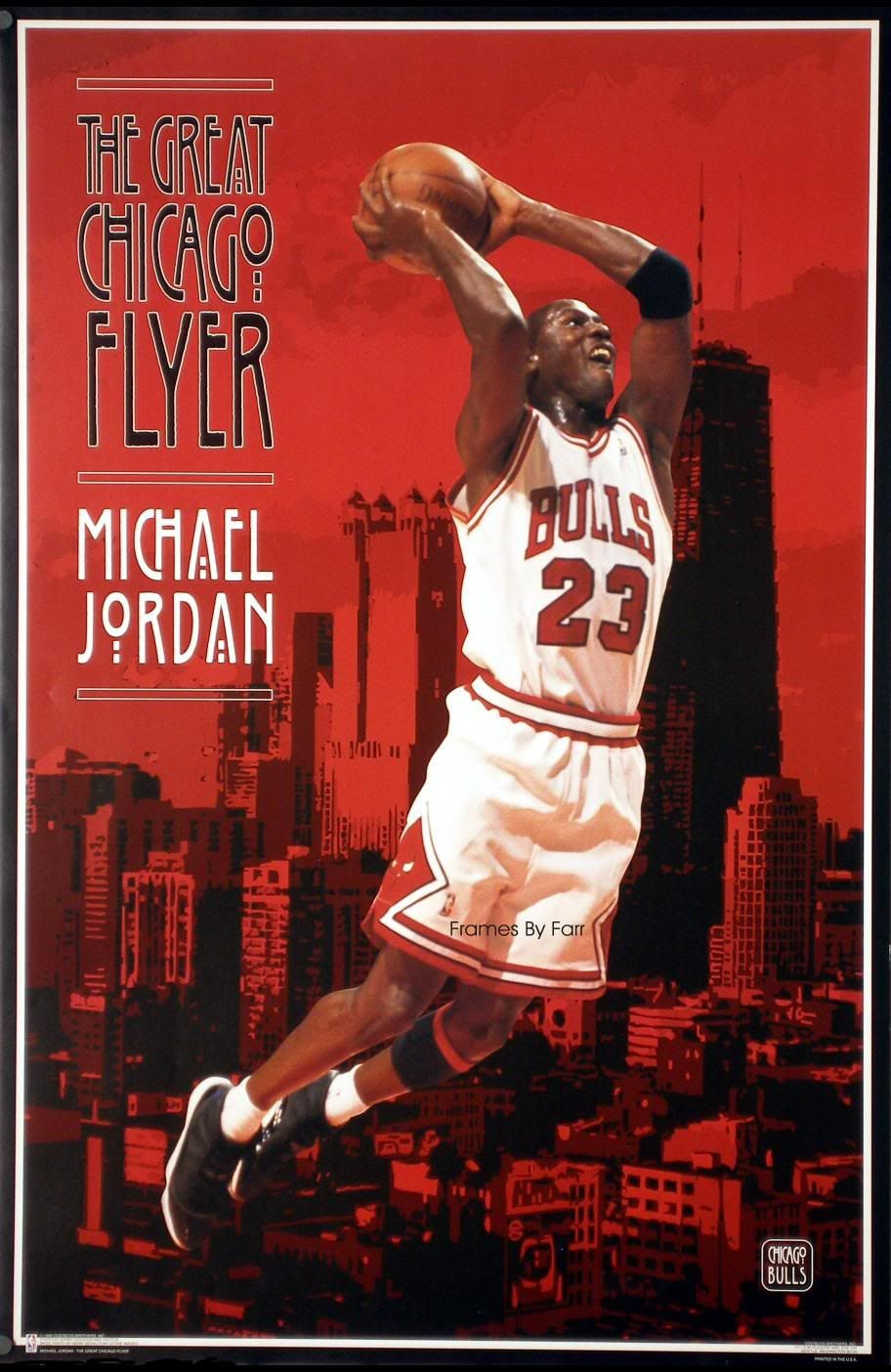 Michael Jordan The Great Chicago Flyer | Michael Jordan 23 ...