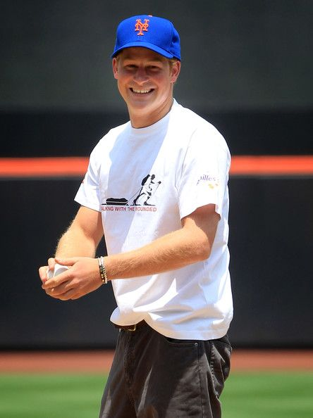 Prince Harry... You can do better with that hat!!! Still <3