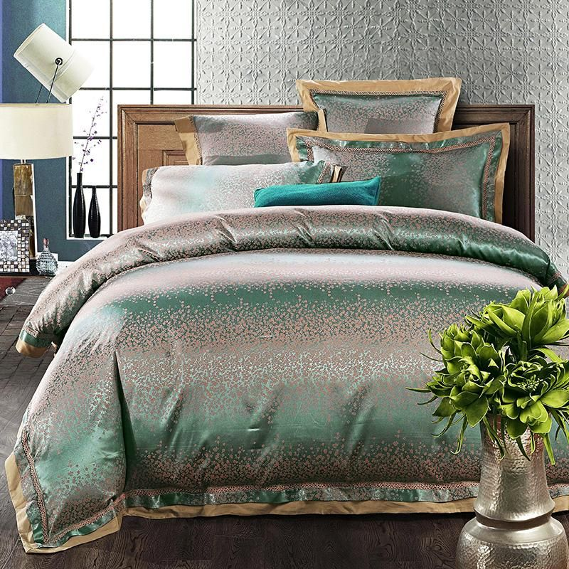 MAJESTY 4-Piece Turquoise Duvet Cover Set in 2019 | bedding | Queen ...