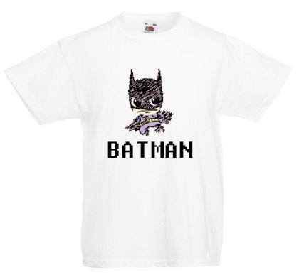 4d9b39cd32 Batman figurás fiú/unisex póló-Fehér. | Fiú Pólók | Mens tops, T ...