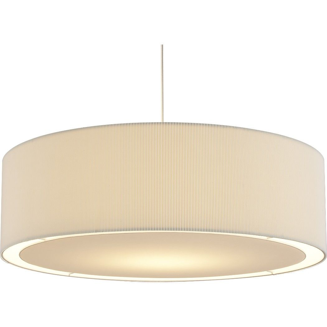 Shop oversized equator pendant light way dramatic offwhite cotton