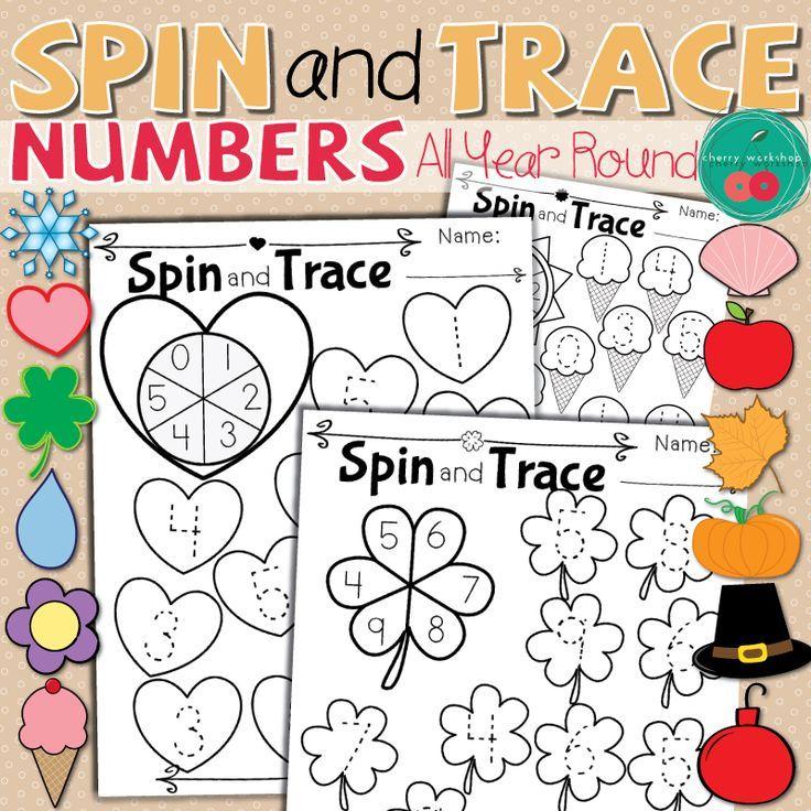 Number Tracing Worksheets Tracing worksheets