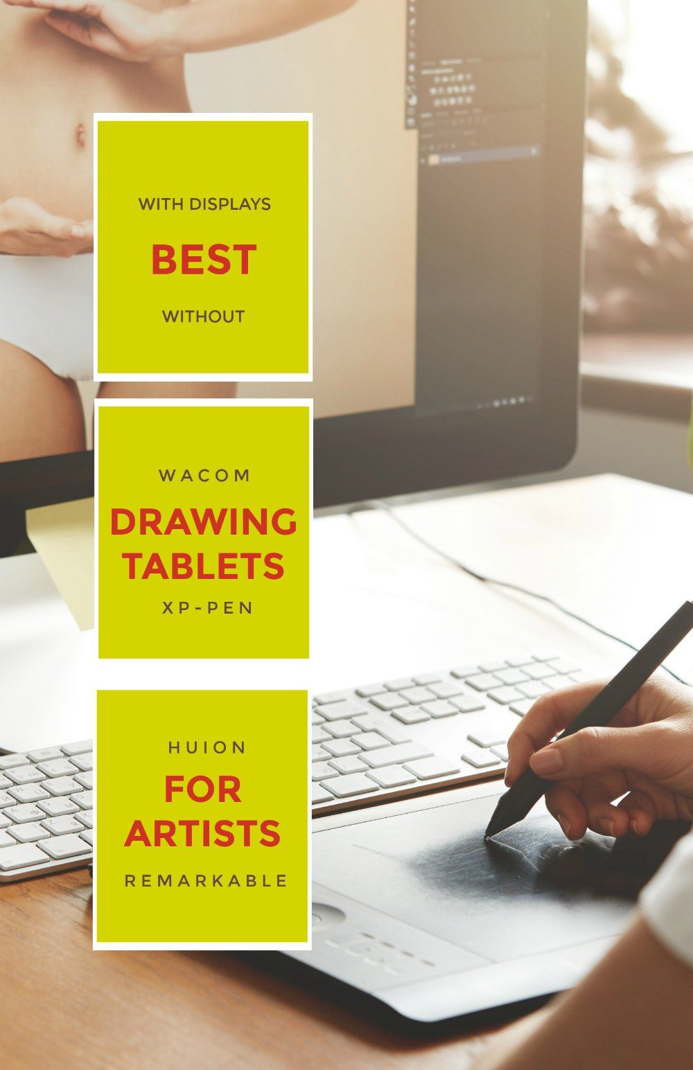 Best drawing tablets for artists in 2018 drawing tablet