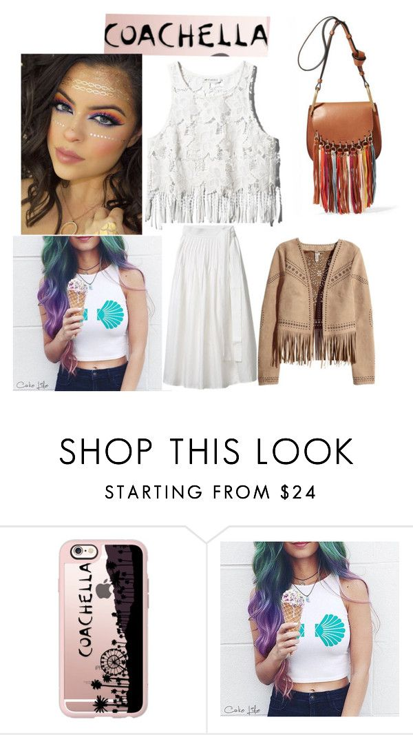 """Coachella"" by josseline-fashion ❤ liked on Polyvore featuring Casetify"