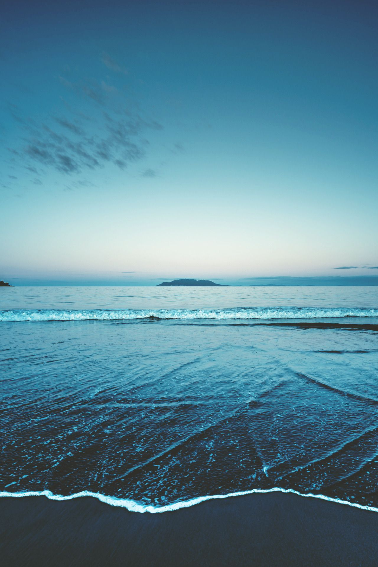 Breathtakingly Blue Nature Sea And Ocean Landscape