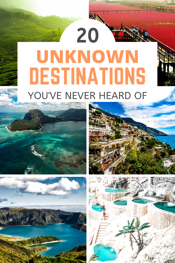 Here are 20 amazing places that prove our planet has many hidden places to visit that aren't well-known at all. Underrated and cheap travel destinations | secret getaways | unknown getaways | must-visit travel destinations #unknowndestinations #unknowntraveldestinations #unknowngetaways #lesserknowngetaways #mustvisittraveldestinations #beautifulplaces