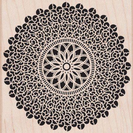 Amazon.com: Hero Arts Woodblock Stamp, Starburst Lace: Arts, Crafts & Sewing