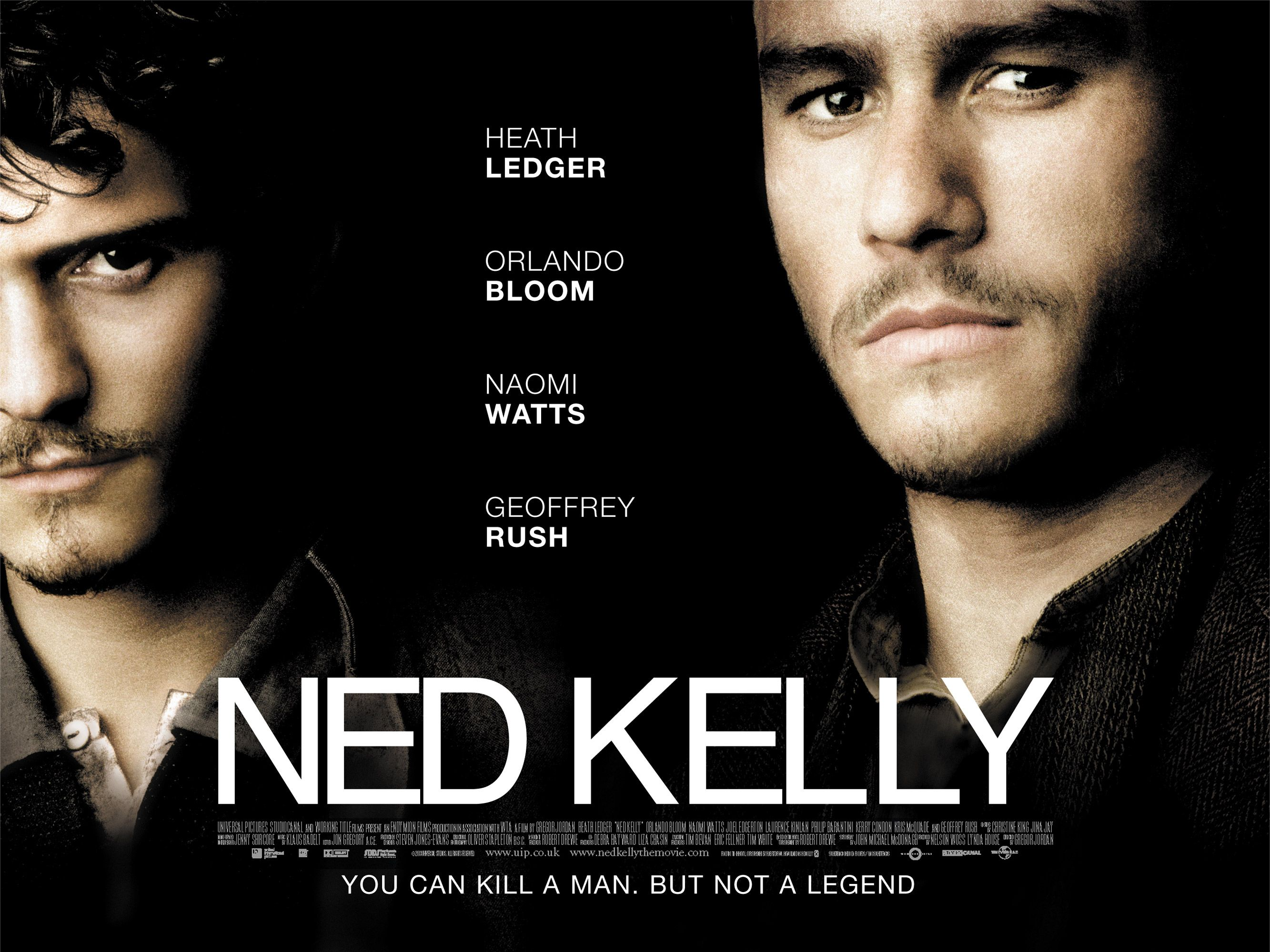 Movie Posters 2003: Ned Kelly (2003)