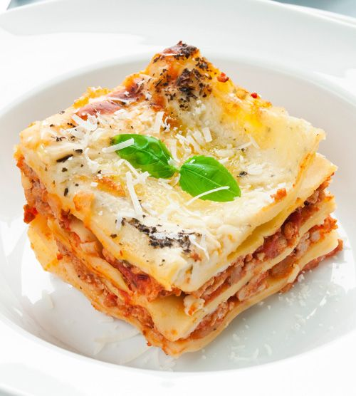 Our Kitchen To Yours: Traditional Italian Easy Lasagna (Lasagna Facile)