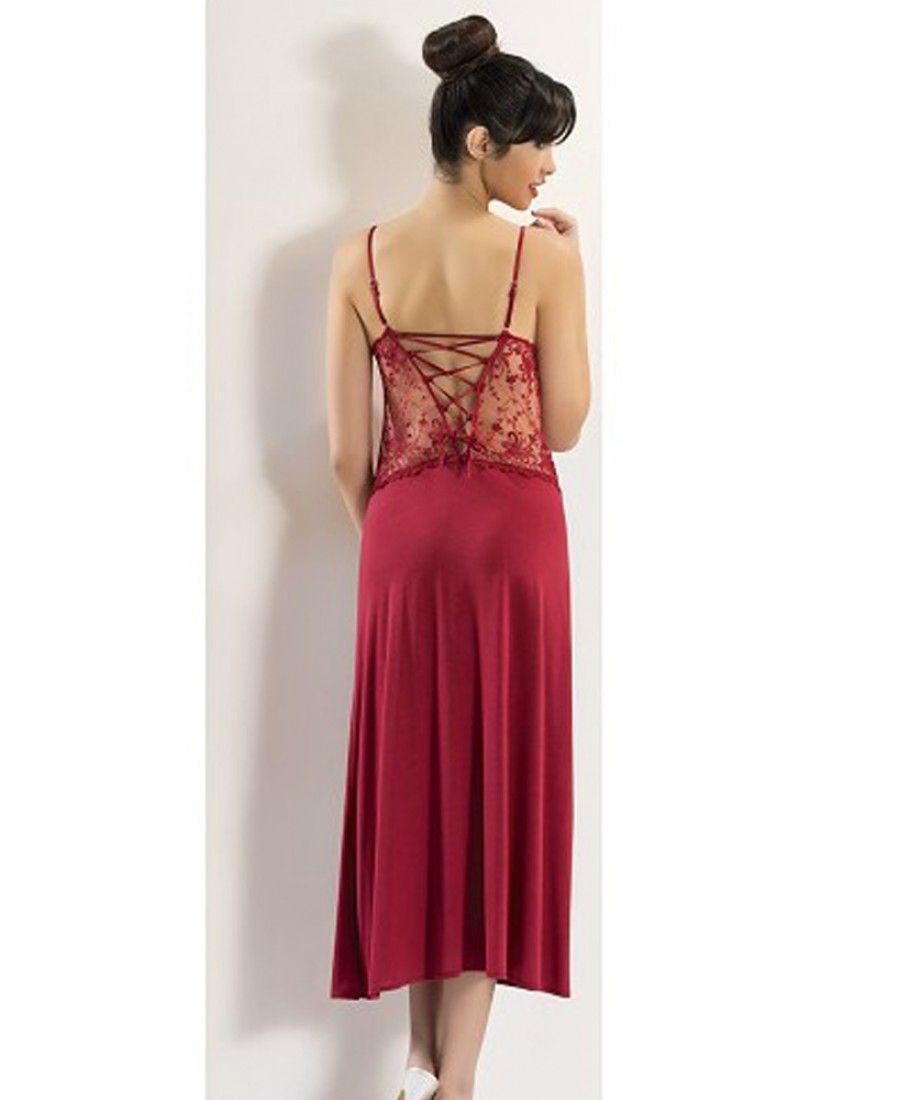 طقم عرائس 6 قطع صباحلك ناعم طويل لون عنابي Xses 3000 Backless Dress Formal Formal Dresses Gowns