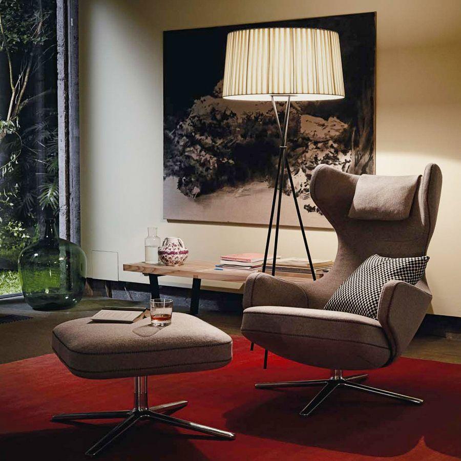 Elegante Mbel Frs Wohnzimmer Lampe Und Sessel Gibt Es Bei Ruby Design Living