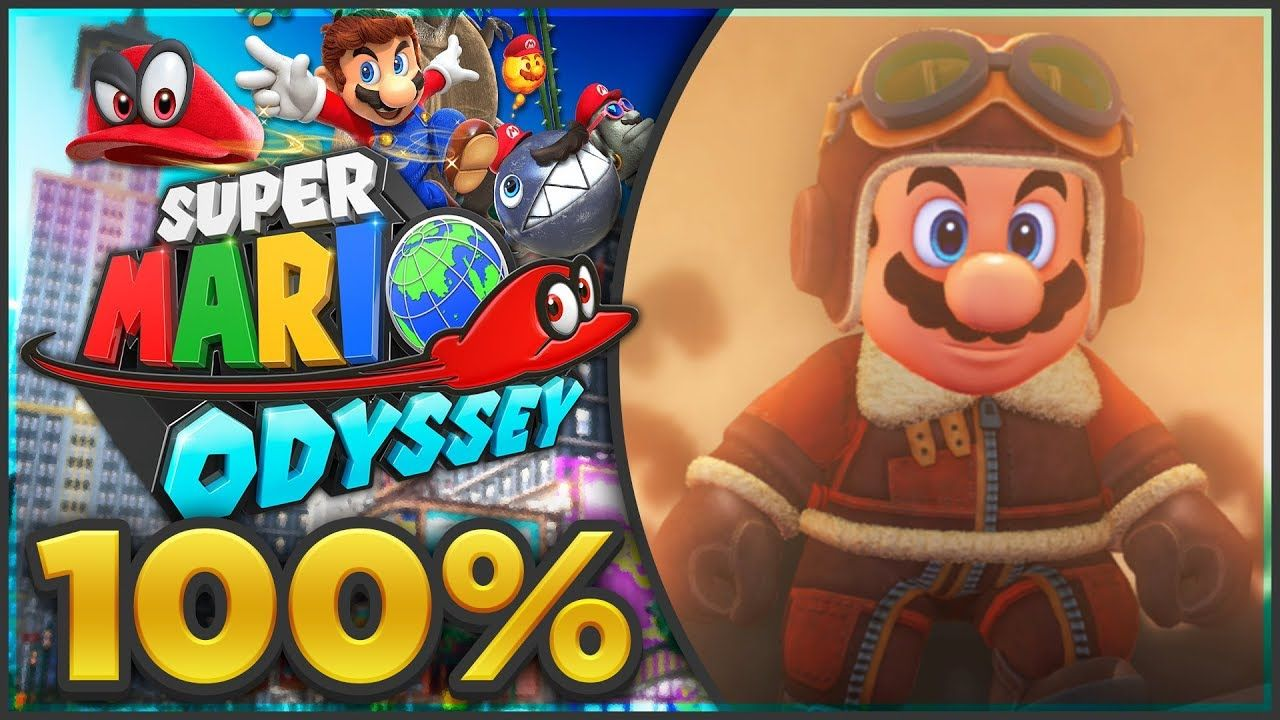 Super Mario Odyssey - Lost Kingdom 100% All Moons & Coins! [🔴LIVE ...