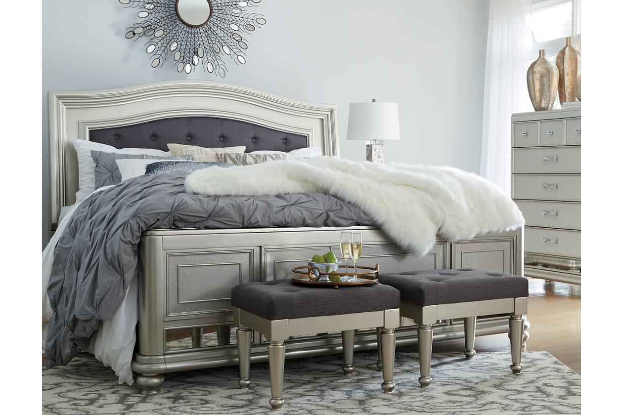 Coralayne Queen Panel Bed Queen Panel Beds Panel Bed Bed Furniture