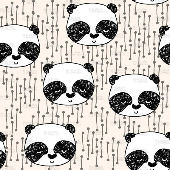 'Panda' a design by andrea_lauren on Fashion FormulaCOVID-19 ** We are still open and printing with no delays in production.◆MASK MAKING FABRICS◆ We recommend using a 100% cotton to make non-medical grade masks and coverings. Our Cotton Calico, Top sateen and Organic Satin fabrics are all very popular choices for this.◆Sold in quantities of FQ (Fat quarter - 65 x 48 cm) or 1M (Fabric width x 100 cm - printed continuously) or 20 x 20 cm SamplesDesigns are digitally printed on demand onto your cho