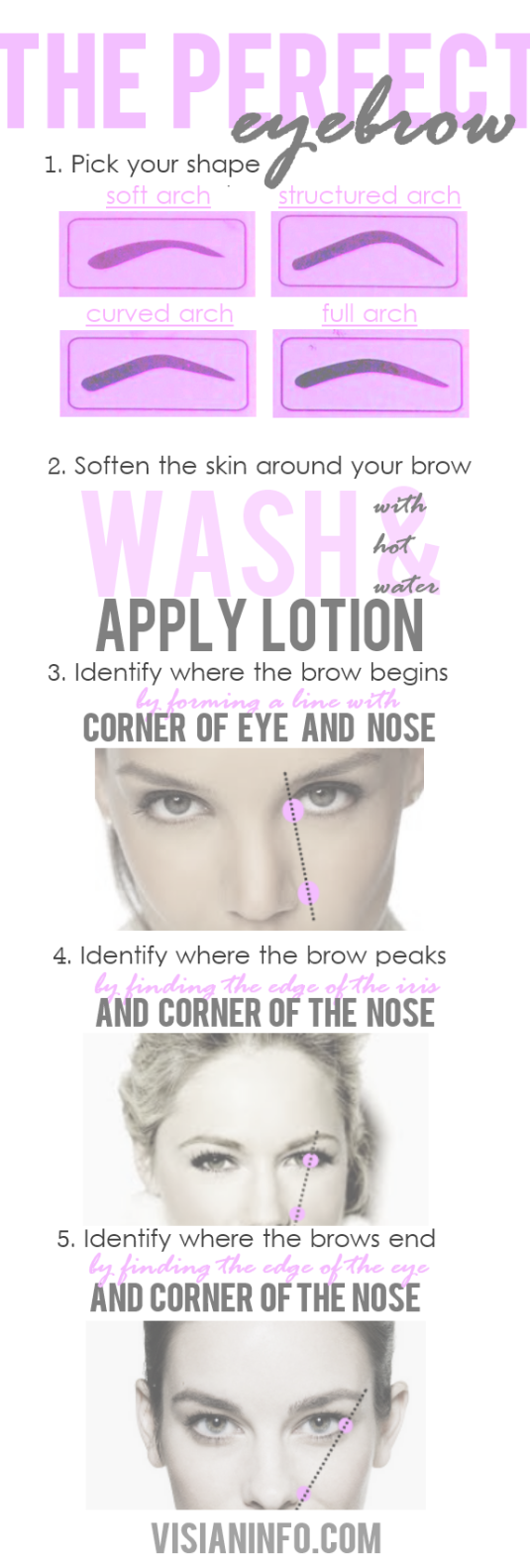 Learn How To Pluck And Shape Your Eyebrows Like A Professional