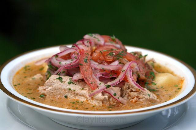 Receta de encebollado de pescado ecuatoriano :: Las recetas de Laylita – Recetas en español