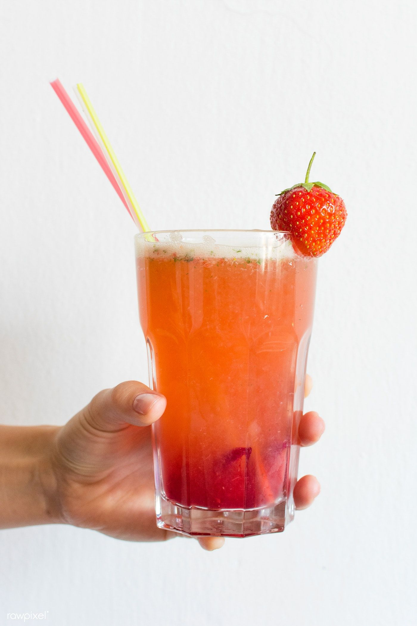 Homemade strawberry lemonade free image by