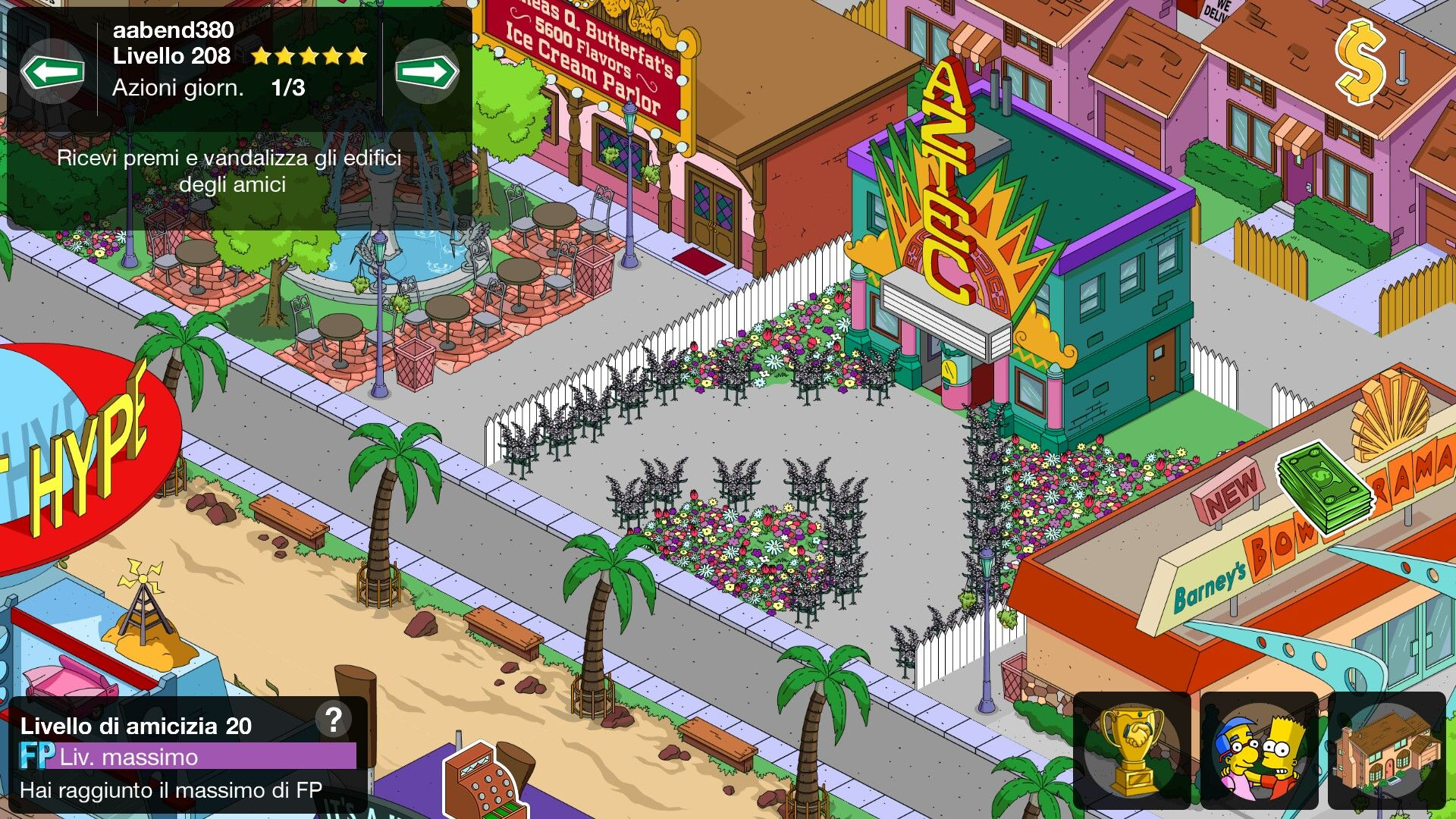 cinema aztec bowlarama The simpsons game, Cinema, The