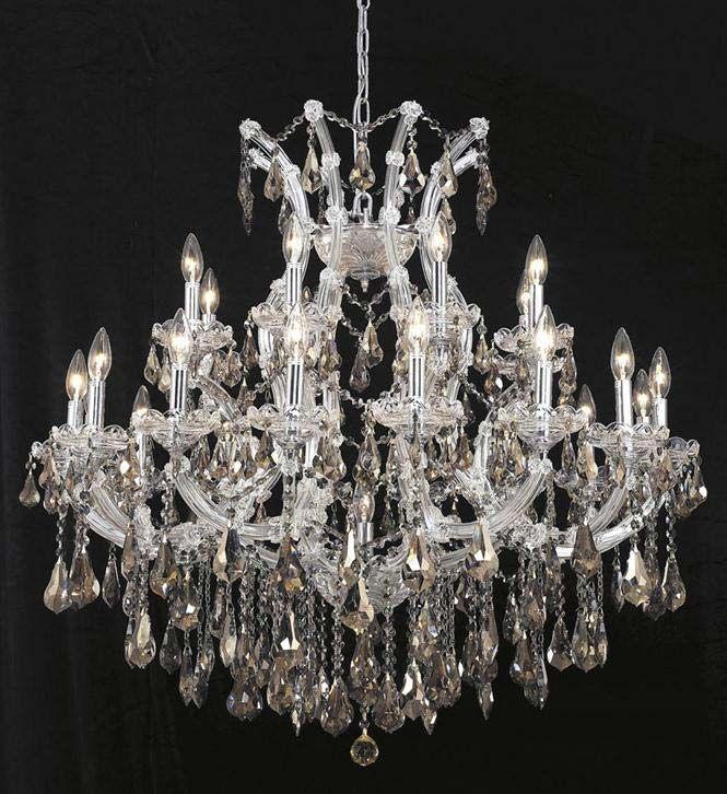 Elegant Lighting 24 Light Maria Theresa Chandelier