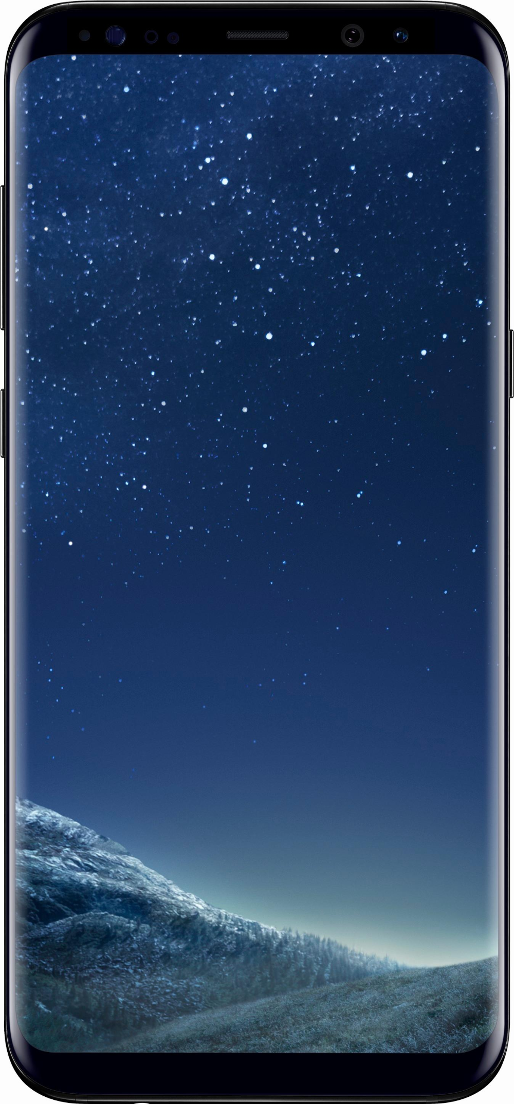Total Wireless Samsung Galaxy S8 Plus 4g With 64gb Memory Prepaid Cell Phone Midnight Black Twsag955ucp Best Buy Galaxy S8 Wallpaper Samsung S8 Wallpaper Samsung Galaxy S8 Wallpapers