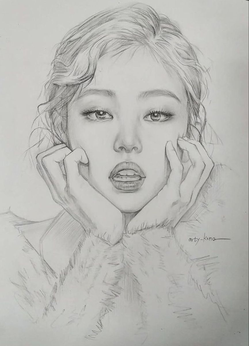Pin By Belkis On Paint In 2021 Girl Drawing Sketches Art Drawings Sketches Simple Kpop Drawings