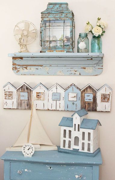 free magazine, home decor, shabby chic, Beautiful lake side home of Kris of Junk Chic Cottage
