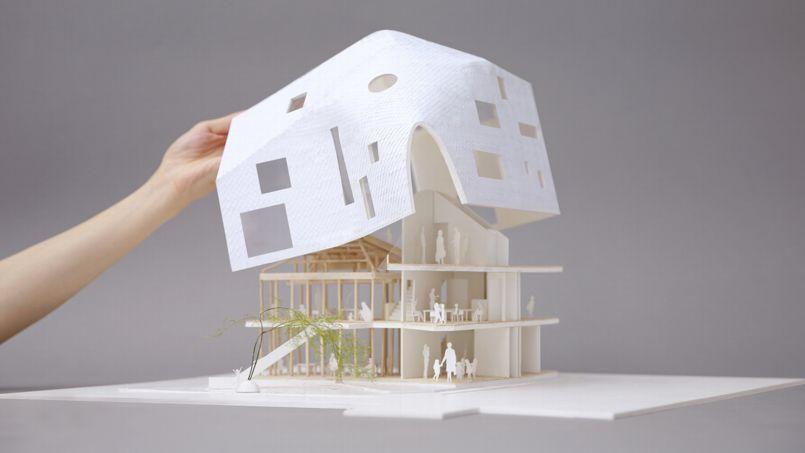 Connu Avant/après : une maison japonaise transformée en école  UD83
